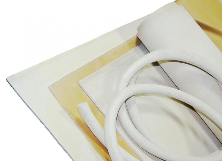 вакуумная белая резина