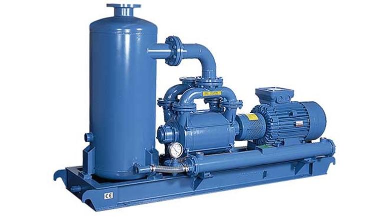 вакуумные системы на базе водокольцевых насосов